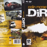 Colin McRae: DiRT (2007) EU PC DVD Cover & Label