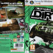 Colin McRae: DiRT 2 (2009) EU PC DVD Cover & Label