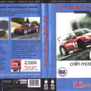 Colin McRae Rally 04 (2004) CZ PC DVD Cover & Label