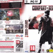 Company of Heroes 2 (2013) CZ PC DVD Cover & Labels