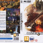 Confrontation (2012) CZ/SK PC DVD Cover & Label