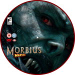 Morbius (2020) R2 Custom DVD Label