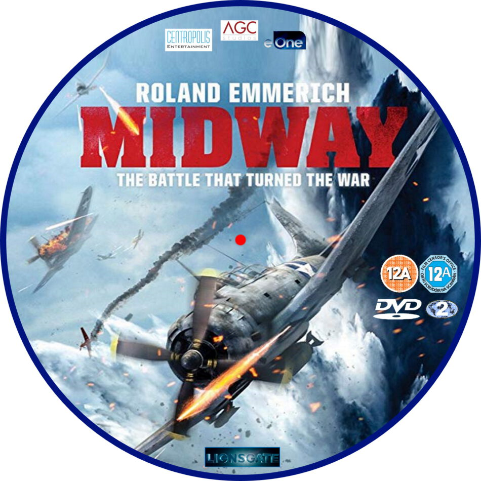 midway  2019  r2 custom dvd label