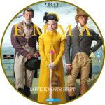 Emma (2020) R2 Custom DVD Label