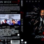 John Wick: Kapitel 2 (2017) German Blu-Ray Covers