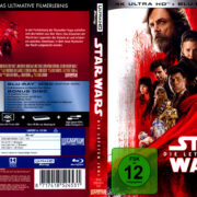 Star Wars - Episode VIII: Die letzten Jedi (2017) German 4K UHD Cover