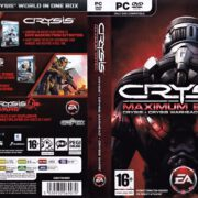 Crysis - Maximum Edition (2009) EU PC DVD Cover & Labels