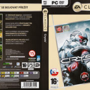 Crysis - Classics Edition (2007) CZ PC DVD Cover & Label
