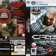 Crysis: Warhead (2008) CZ/SK PC DVD Cover & Labels