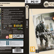 Crysis 2 - Classics Edition (2011) CZ PC DVD Cover & Label