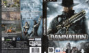 Damnation (2009) CZ/SK PC DVD Cover & Label