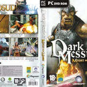 Dark Messiah of Might & Magic (2006) CZ/SK PC DVD Cover & Label