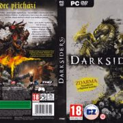 Darksiders (2010) CZ/SK PC DVD Cover & Labels