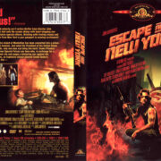 ESCAPE FROM NEW YORK (1981) R1 DVD COVER & LABEL