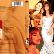 EVERLASTING GLORIA - GLORIA ESTEFAN (1995) R1 DVD COVER & LABEL