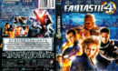 FANTASTIC 4 (2005) R1 DVD COVER & LABEL
