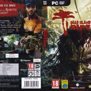 Dead Island: Riptide (2013) CZ/SK PC DVD Covers & Label