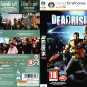 Dead Rising 2 (2010) CZ/PL PC DVD Cover & Label