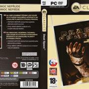 Dead Space - Classics (2008) CZ/SK PC DVD Cover & Label