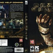 Dead Space (2008) US PC DVD Cover & Label