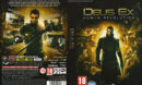 Deus Ex: Human Revolution (2011) CZ PC DVD Cover & Label