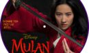 Mulan (2020) R2 Custom DVD Label
