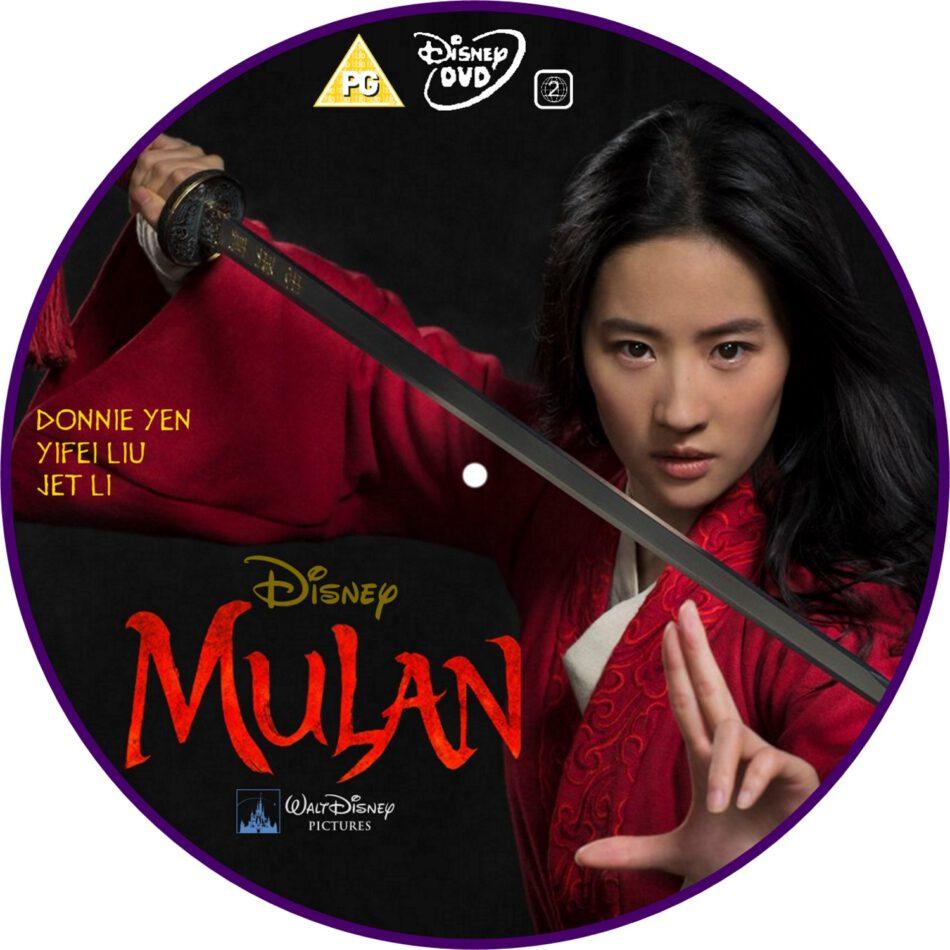 Mulan 2020 R2 Custom Dvd Label Dvdcover Com