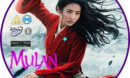 Mulan (2020) RB Custom Blu-ray Label