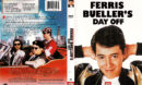 FERRIS BUELLER'S DAY OFF (1986) R1 DVD COVER & LABEL