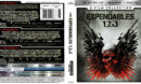 The Expendables: 3-Film Collection (2018) 4K UHD Blu-Ray Cover