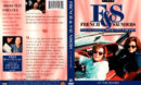 FRENCH & SAUNDERS AT THE MOVIES (1993-1999) R1 DVD COVER & LABEL