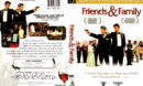 FRIENDS AND FAMILY (2003) R1 DVD COVER & LABEL
