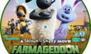 Shaun The Sheep: Farmageddon (2019) R2 Custom DVD Label