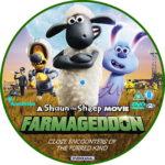 Shaun The Sheep: Farmageddon (2019) R2 Custom DVD Label