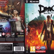 DmC - Devil May Cry (2013) CZ PC DVD Cover & Label