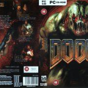 Doom 3 (2004) EU PC DVD Cover & Labels