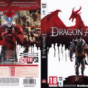 Dragon Age II (2011) CZ/SK PC DVD Cover & Label