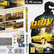 Driver: San Francisco (2011) CZ/SK PC DVD Covers & Label