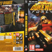 Duke Nukem Forever (2011) CZ PC DVD Cover & Label