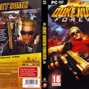 Duke Nukem Forever (2011) EU PC DVD Cover & Label