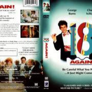 18 AGAIN! (1988) R1 DVD COVER & LABEL
