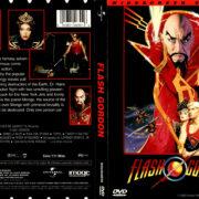 FLASH GORDON (1980) R1 DVD COVER & LABEL