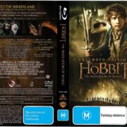 The Hobbit The Desolation of Smaug (2013) R4 Blu-Ray Cover