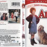Annie (1981) R1 Blu-Ray Cover & Label