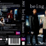 BEING HUMAN SERIES ONE (2008) R2 BLU-RAY COVER & LABELS