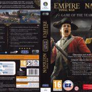 Empire & Napoleon: Total War - GOTY (2010) CZ/SK PC DVD Cover & Labels