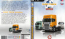 Euro Truck Simulator (2008) CZ/SK PC DVD Cover & Label