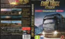 Euro Truck Simulator 2: Skandinávie (2015) CZ/SK PC DVD Cover & Label