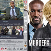 Murder in the First - Season 2 (2015) R1 Custom DVD Cover & Labels