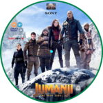Jumanji: Next Level (2020) R2 Custom DVD Label